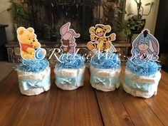 Otoño Baby Shower, Baby Shower Diapers, Baby Shower Parties, Baby Shower Themes, Huggies Diapers, Shower Ideas, Baby Theme, Winnie The Pooh Themes, Winnie The Pooh Cake