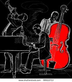 Vector illustration of a Jazz band by isaxar, via ShutterStock