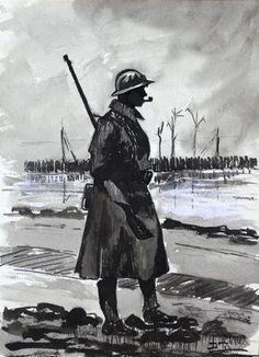 War art, Trench Life. Europeana 1914-1918, CC BY-SA