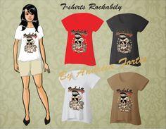 Fine Blend... toda moda...: T-shirts Rockabilly