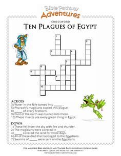Moses Plagues, Plagues Of Egypt, 10 Plagues, Bible Story Crafts, Bible Stories For Kids, Bible Study For Kids, Egypt Crafts, Feasts Of The Lord, Bible Activities