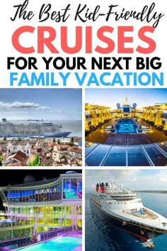 How about a family cruise vacation? Read here about our favorite family friendly cruise lines. These are the best cruises for kids that will please your entire family. Read our cruise tips for picking your next cruise vacation with the family here. We wil Best Cruises For Kids, Best Family Cruises, Family Friendly Cruises, Family Vacations, Vacations For Kids, Family Getaways, Cruise Travel, Cruise Vacation, Vacation Trips