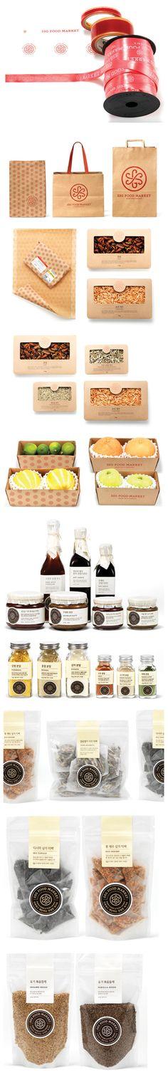 SSG food market #branding #packaging PD