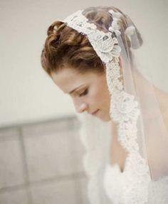 #Mantilla para la novia