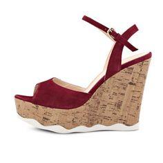 Sandal Shops, Fringes, Bordeaux, Spring Summer, Wedges, Black, Fashion, Fashion Styles, Branding
