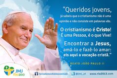Frases João Paulo II