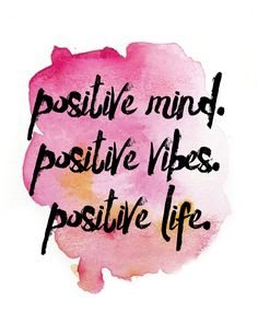 Positive vibes result to a positive life :) Pin. Positive Schwingungen, Positive Thoughts, Positive Quotes, Positive Affirmations For Anxiety, Positive Phrases, Positive Vibes Only, Staying Positive, Negative Thoughts, Motivacional Quotes