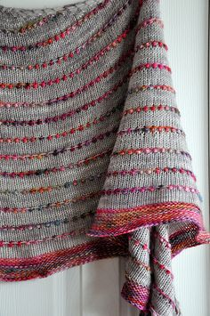 Knitting Stitches, Knitting Yarn, Free Knitting, Knitting Patterns, Crochet Patterns, Knitted Shawls, Knitted Blankets, Shawl Patterns, Knitting Accessories