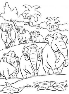 mowgli and shere khan the jungle book coloring pages for kids ... - Disney Jungle Book Coloring Pages