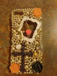Vintagey cell phone case
