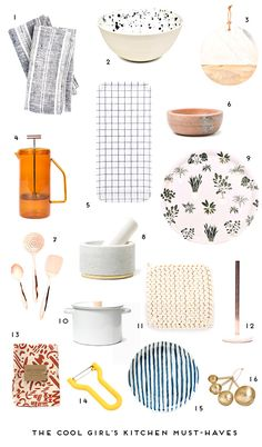 16 Kitchen Items that Every Cool Girl Needs - Paper and Stitch