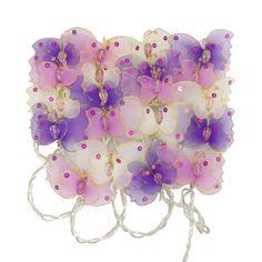 Fairy Lights - Lilac Butterflies - Available now on Becky & Lolo