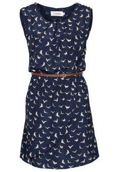 Dunkelblaues Kleid im tierisch angesagten Allover-Print. Louche DREAMY - Blusenkleid - navy für SFr. 65.00 (23.03.15) versandkostenfrei bei Zalando.ch bestellen.