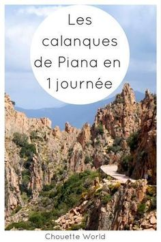 Une journée pour visiter les calanques de Piana : conseils et infos pratiques #corse #corsica #piana #clanquesdepiana #calanques #calanche #randonnée
