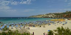 Mellieħa Bay, Malta Longest stretch of sandy beach and Paradise Bay, at the north tip of the island, is the smallest but the prettiest.