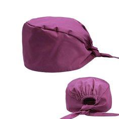 Hat+mask Solid Pharmacy Cap Nurse Doctor Surgical Hospital Adjustable Medical surgery Caps Scrub Lab Clinic Dental Operation new - hat 5 One Size Scrub Hat Patterns, Scrubs Pattern, Surgical Caps, Scrub Caps, Female Doctor, Mask For Kids, Hats For Men, Hat Men, Diy Face Mask