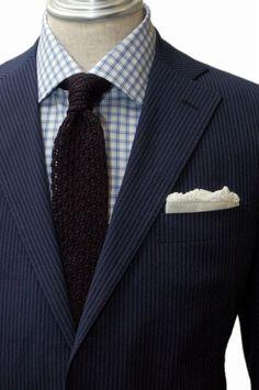 Bespoke Suit / Caccioppoli Seer-sucker