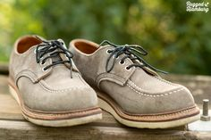 Under my skin : Red Wing roughout oxford