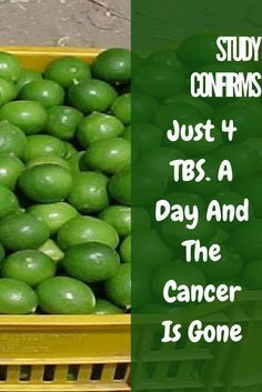 Study Confirms: Just 4 TBS. A Day And The  Cancer Is Gone!