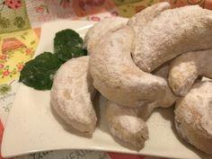 Ellenállhatatlan: Omlós gesztenyés hókifli | Mediterrán ételek és egyéb finomságok...