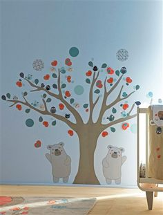 1000 images about chambre bebe on pinterest stickers - Stickers etoile chambre bebe ...