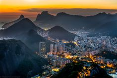 Botafogo Humaitá and the surrounding hills. Rio de Janeiro Brazil x Looking Up, High Quality Images, View Image, Beautiful Images, Mount Everest, Natural Beauty, River, Mountains, Explore