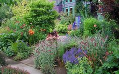 Beautiful Seattle garden - Perennials provide color and texture for this outstanding cottage garden. Minimalist Garden, Quiz, Ornamental Grasses, Garden Spaces, Garden Plants, Front Yard Landscaping, Landscaping Ideas, Dream Garden, Garden Planning