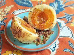 Marillenknödel; Austrian Apricot Dumplings