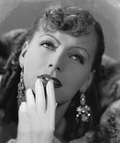 HOLLYWOOD, 1930 -- Swedish-born American actress Greta Garbo in costume for her role in Romance.