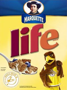 Marquette Life is good… and a part of your balanced breakfast.