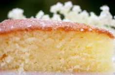 The Quince Tree: Cake of the Month - Elderflower Drizzle Cake