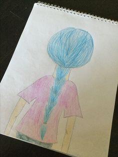 Random girl Amazing Art, Random, Drawings, Painting, Painting Art, Sketch, Paintings, Paint, Draw