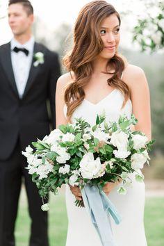 Elegant white bridal bouquet | Rancho Valencia Weddings | Rancho Santa Fe | Compass Floral | Wedding Florist in San Diego and Southern California | Cavin Elizabeth Photography #gardenromantic #sandiegowedding #sandiegoweddingflorist #orangecountyflorist #palmspringsflorist #ojaiflorist #floraldesign #bridalbouquet #bridesbouquet #bridalflowers #bridalstyle #weddingfashion #whitewedding #whiteflowers #greenandwhitewedding #ranchovalenciawedding #ranchovalencia #ranchosantafe