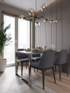 Successful Strategies For Modrest Rectangular White Marble Dining Room 118 - targetinspira Dining Room Wall Decor, Dining Room Design, Dining Rooms, Home Interior, Interior Design Living Room, Dinner Room, Luxury Kitchen Design, Luminaire Design, House And Home Magazine