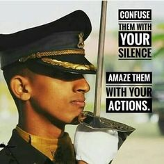 You.. Hero of the my INDIA..... Military Memes, Military Love, Army Love, Motivational Pictures For Success, Motivational Quotes, Indian Army Special Forces, Indian Police Service, Indian Army Quotes, Indian Army Wallpapers
