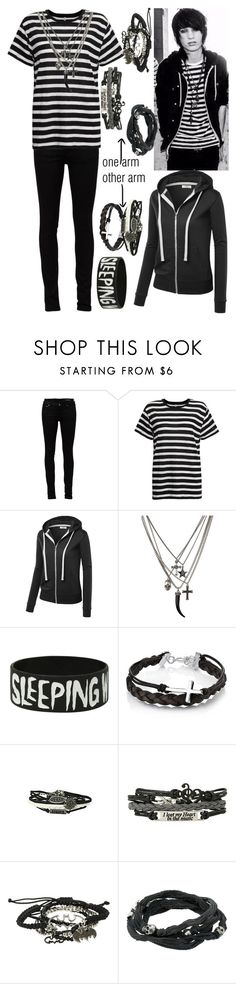 Johnnie Guilbert by legacy-sinister on Polyvore featuring R13, Yves Saint Laurent, King Baby Studio and Footnotes Too