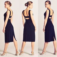 The tanguera little black dress: Gorgeous open back dress OLIVIA! Dress Backs, Dress Up, Tango Dress, Aj Styles, Open Back Dresses, Elegant, Diy Clothes, Berlin Germany, Salts