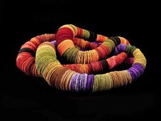 felt necklace by ana hagopian