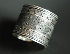 Masai Wide Cuff Bracelet for Women