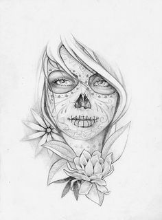 skull candy tattoo - Google Search