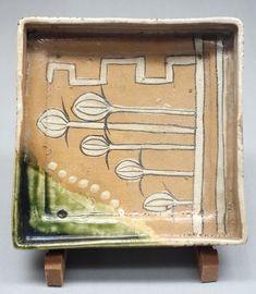 Cornered Bowl, Mino ware, Oribe type, Edo period, 17th century - Tokyo National Museum - DSC05274 - Oribe ware - Wikipedia