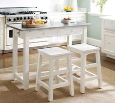 Balboa Counter-Height Table & Stool 3-Piece Dining Set | Pottery Barn