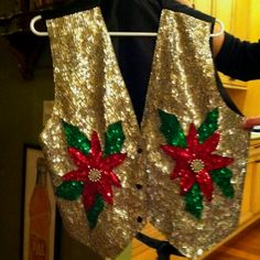 Tacky Sweater Christmas Party Perfection.
