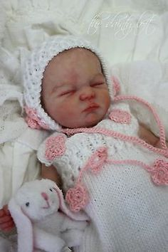 * SILICONE Baby Prudence * Reborn by KrisC ~ The Dainty Loft ~ OOAK in Babies | eBay