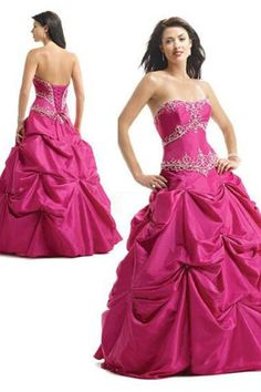 Cheap Quinceanera Dresses $155.99 Gorgeous Ball Gown Strapless Quinceanera Dresses