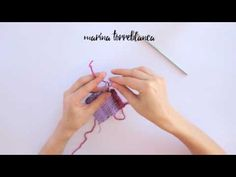 VIDEO: Cómo cambiar de color a crochet (¡correctamente!) - Marina Torreblanca Blog