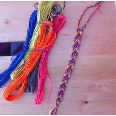 Diy friendship bracelet