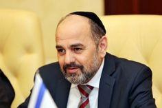 Глава делегации парламента Израиля помолился в синагоге Севастополя..
