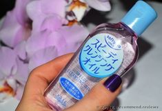 Kose SOFTYMO Speedy Cleansing Oil review: 'A japanese Kose cleansing oil is my best go-to when it comes to removing a super long-lasting makeup. Pictures.'