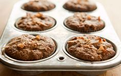 Whole wheat pastry flour combines with apples, raisins, carrots, coconut and walnuts in these nutritious and satisfying muffins. You can also try our  Gluten-free Morning Glory Muffins. Watch our how-to video.